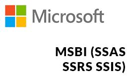 microsoft-technologies-MSBI(SSAS-SSRS-SSIS)