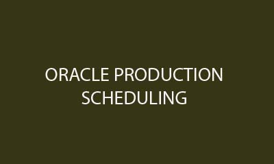 oracle-production-scheduling